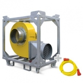 FV100 Industrial Ventilation Extraction Fan 400v 50 Hz