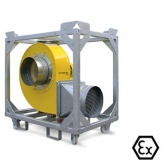 FV100 Ex Industrial Ventilation Extraction Fan 400v 50 Hz