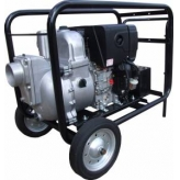 "Koshin 2"" Diesel Trash Pump Electric Start - KTH-50DHES (650 LPM)"