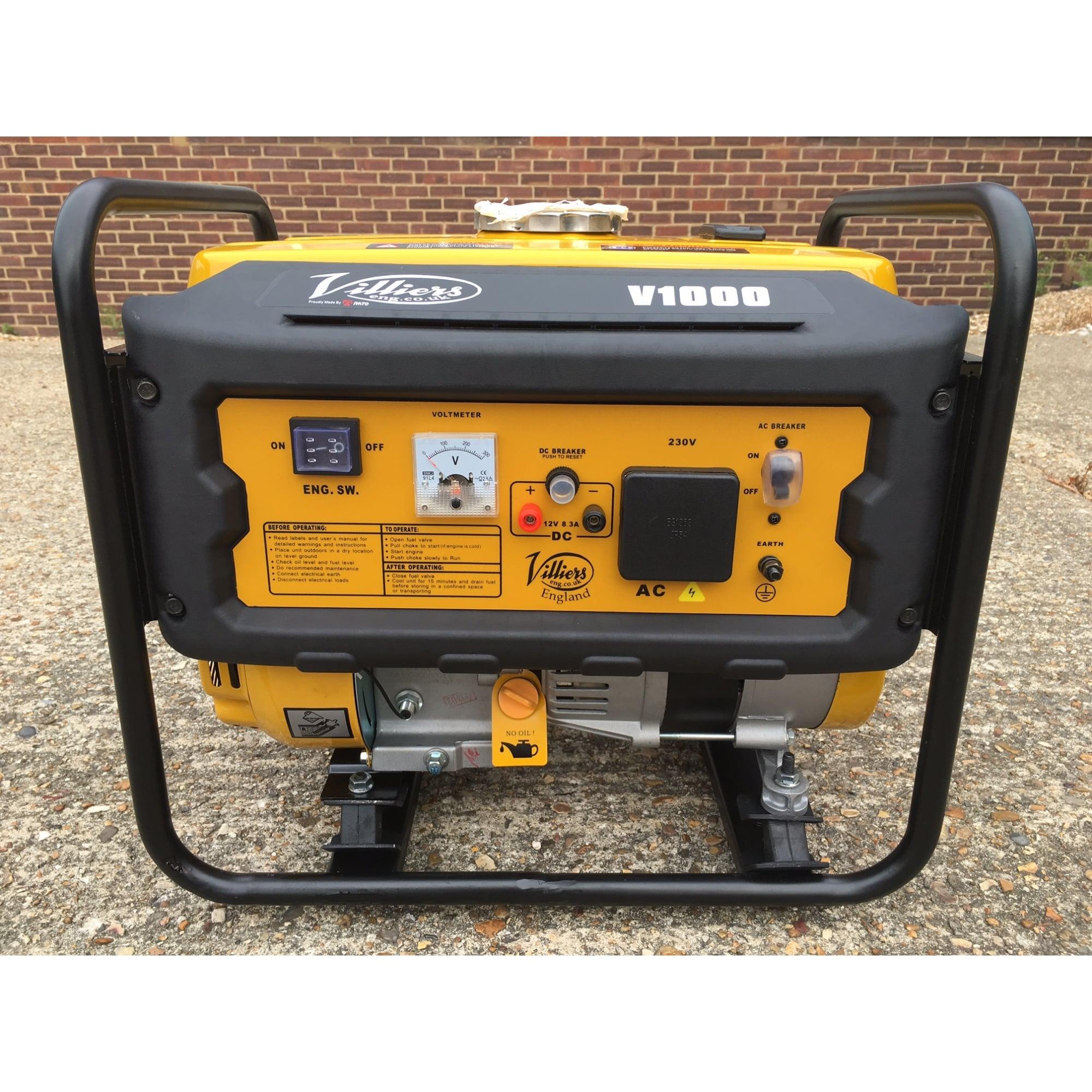 Villiers V1000 Petrol Generator 1KW