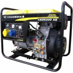CED6000XE 6.0kva Electric Start Diesel Generator
