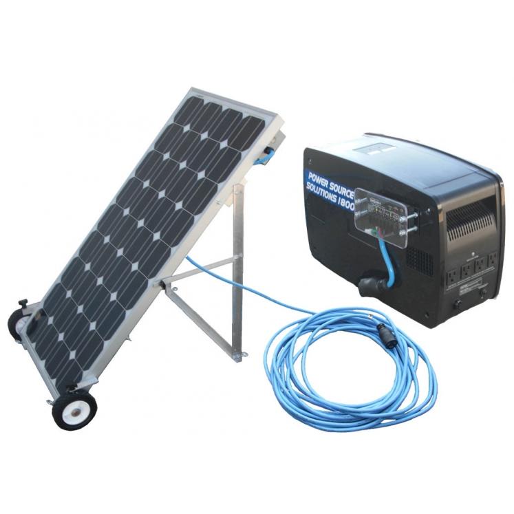 1800 watt Solar Backup Generator