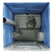 Re-circulating Chemical Portable Toilet inc HOT WATER SINK