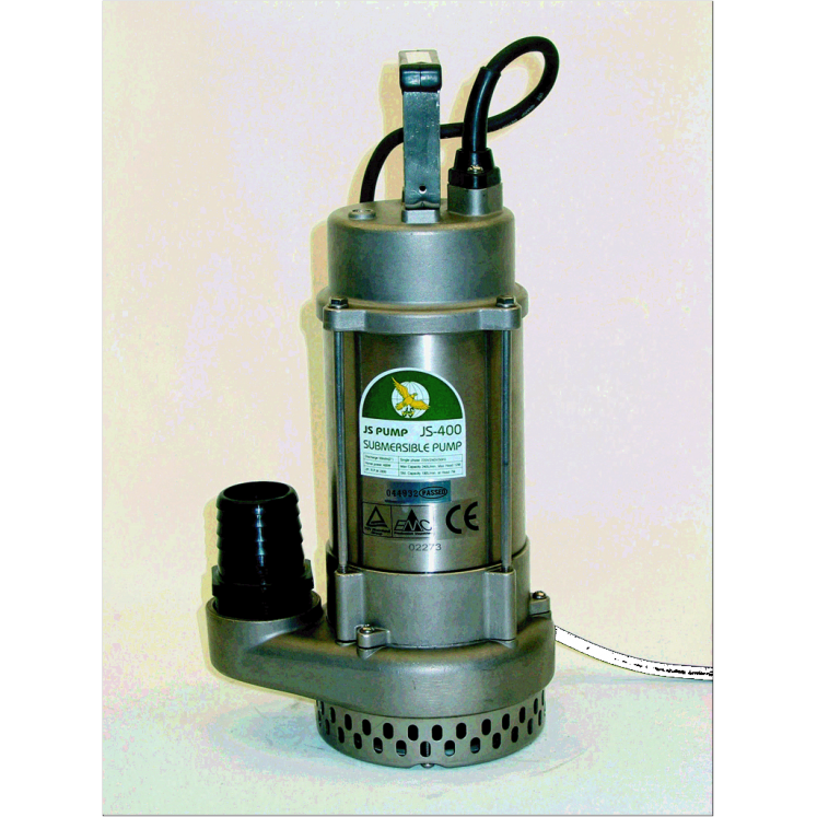 Js 400 230v 2 Stainless Steel Submersible Pump